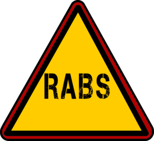 RABS Caution