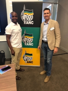 Gert Nel With Ngoako Mohlaloga at the ANC Legal Research Group Workshop